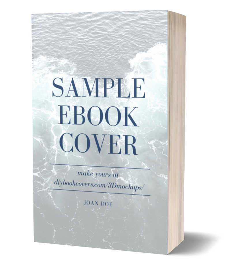 Sample Ebook 3d Cover Left